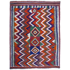 Rare semi antique turkish prayer kilim