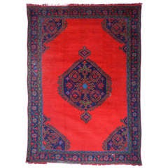 Antique Turkish Oushak Rug