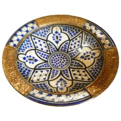 Moroccan Antique Ceramic Bowl