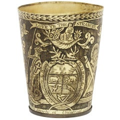"English Horn Beaker by Nathaniel Spilman for ""The Society of Universal Goodwill"""