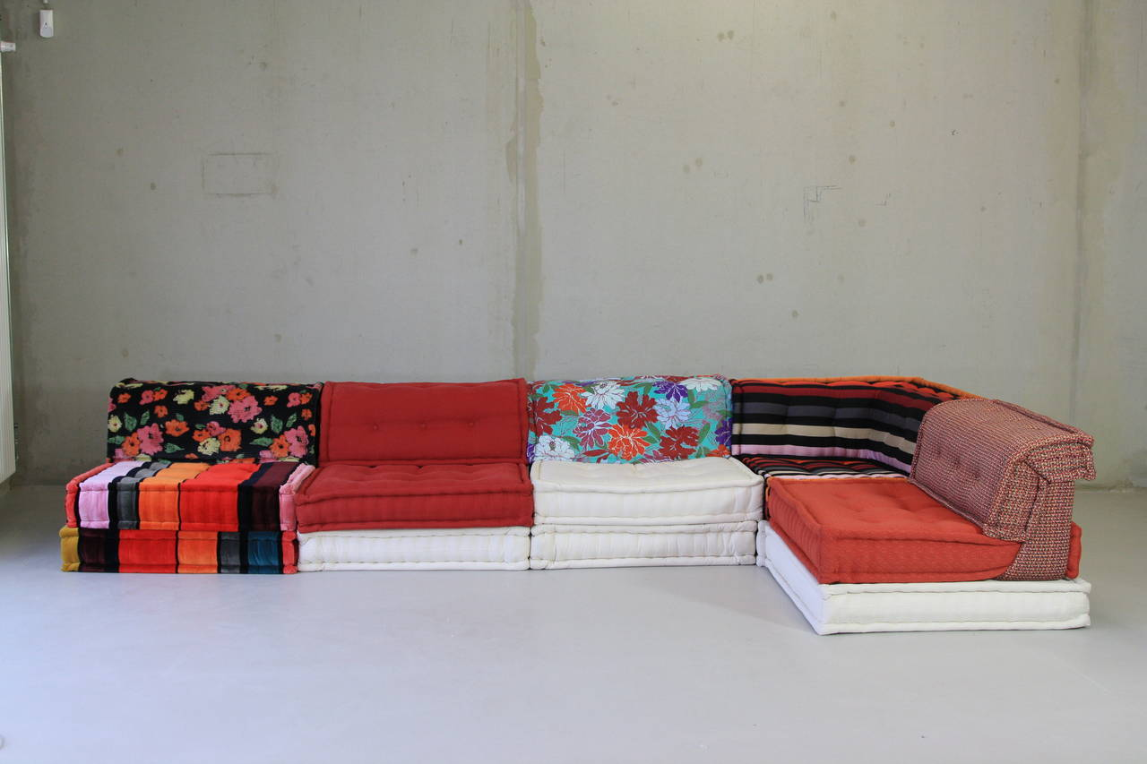 Delightful Modular Sofa Group Designed By Hans Hopfer In 1971 And Made By Roche  Bobois, France