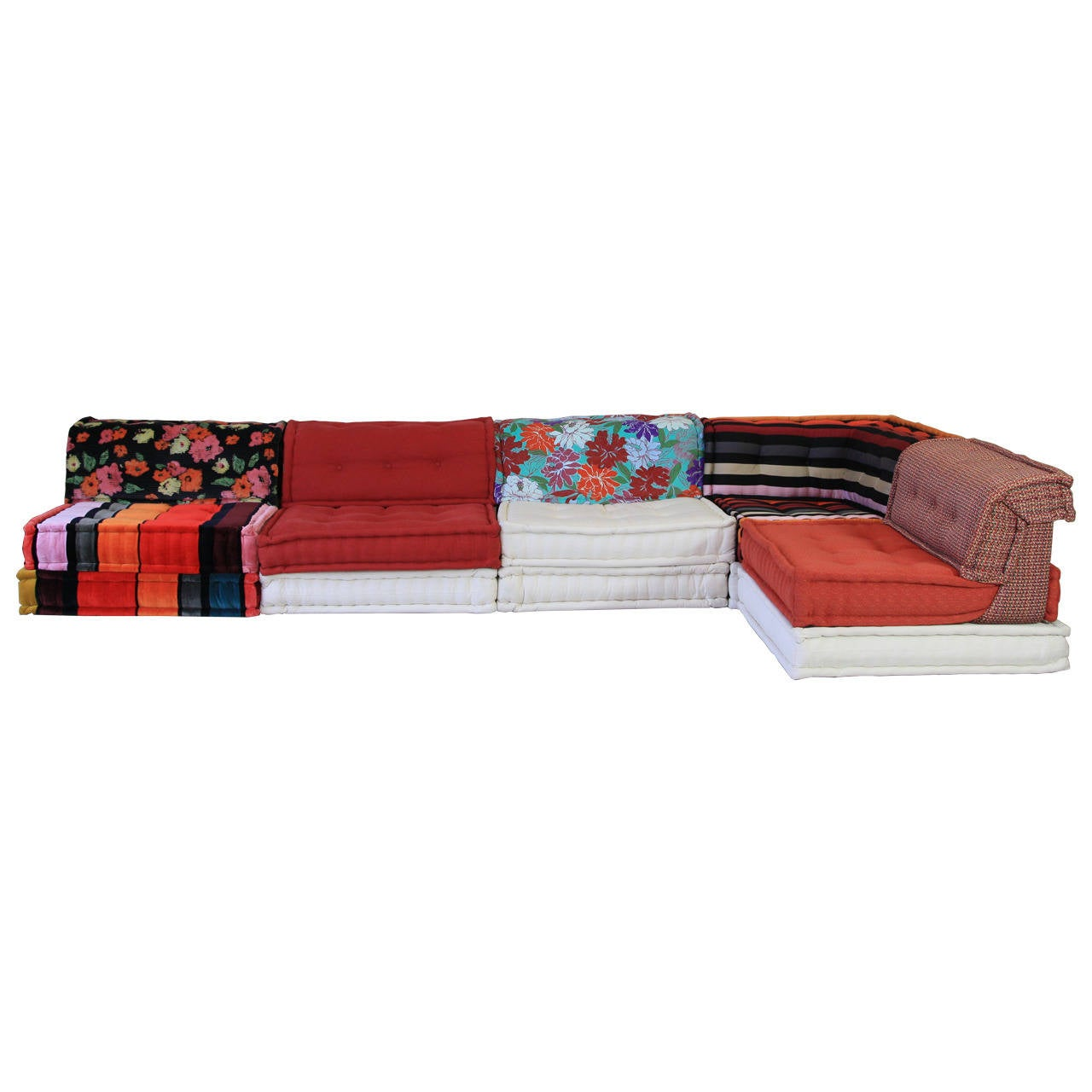 roche bobois mah jong sofa at 1stdibs. Black Bedroom Furniture Sets. Home Design Ideas