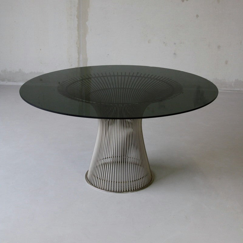 Warren platner dining table knoll at 1stdibs for Table warren platner