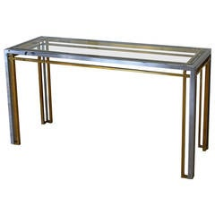 romeo rega attributed console table italy
