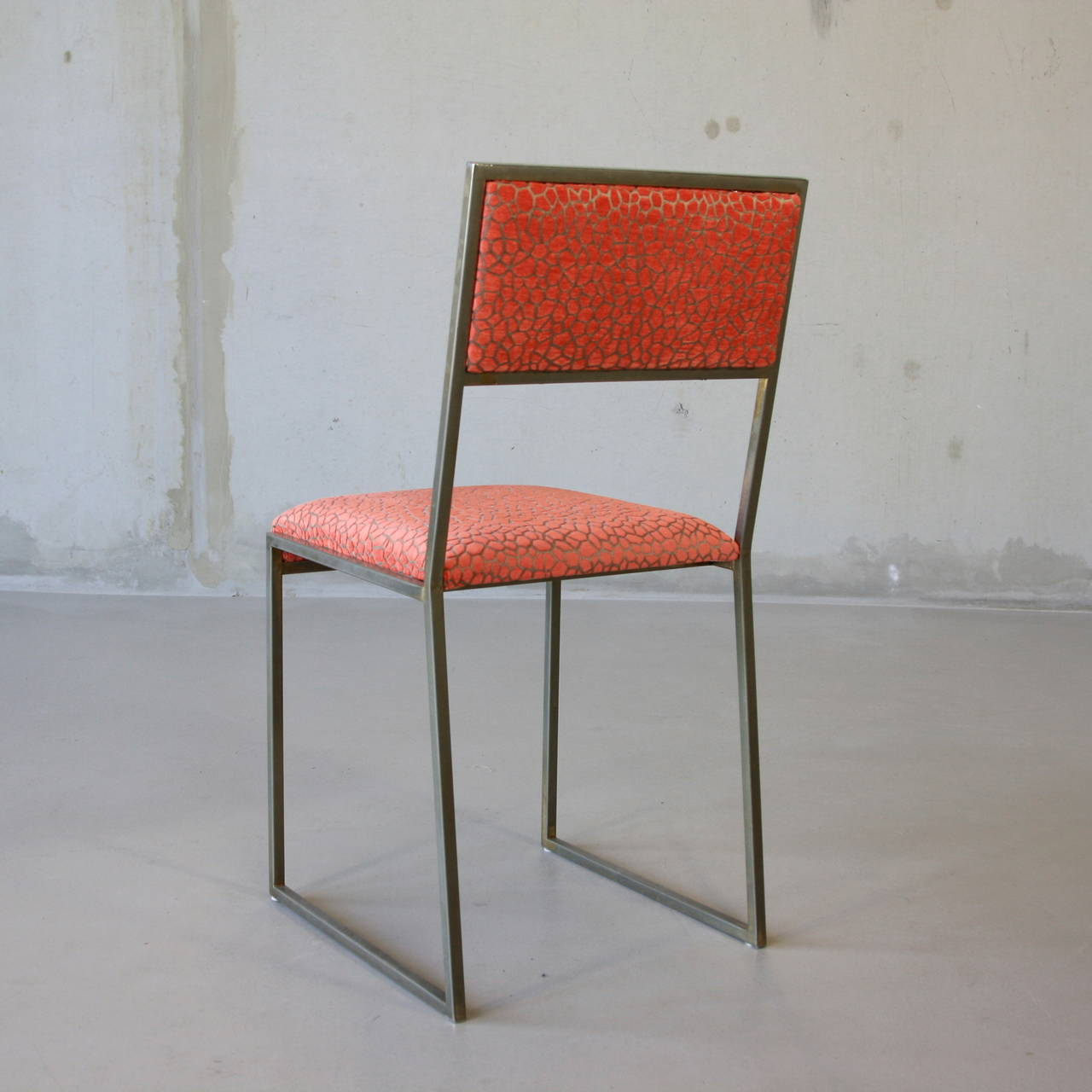 Set of four dining room chairs 1970s at 1stdibs for 1970 dining room set
