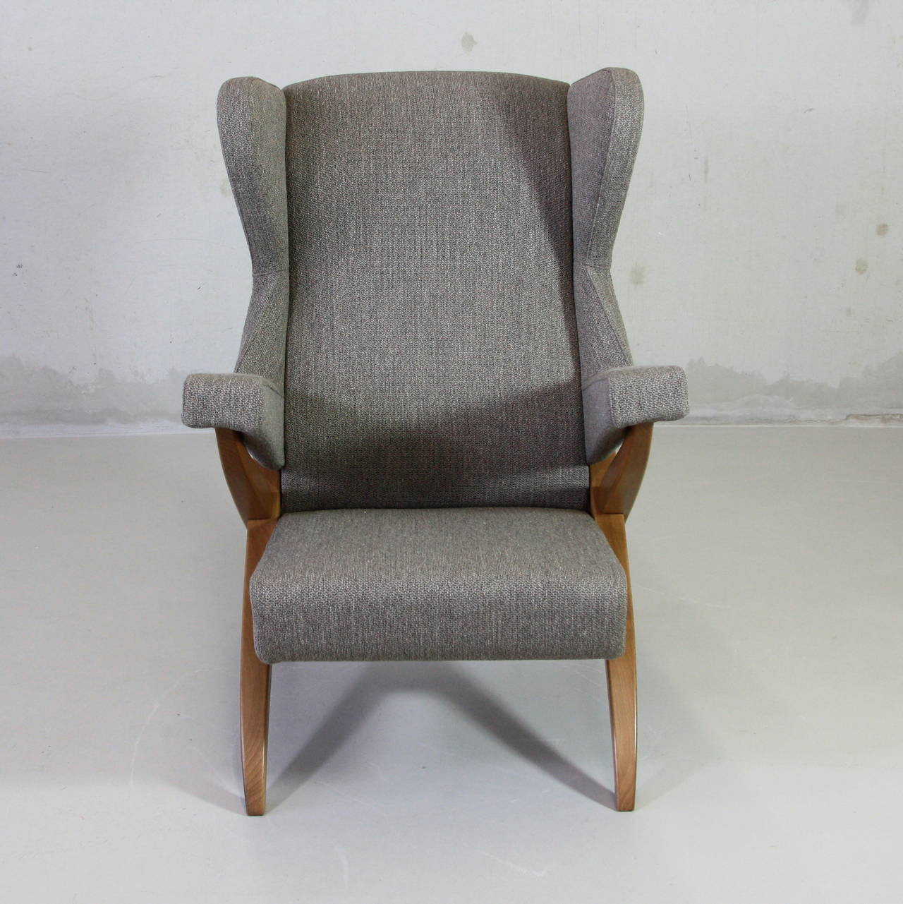 Franco Albini Lounge Chair And Foot Stool For Sale At 1stdibs