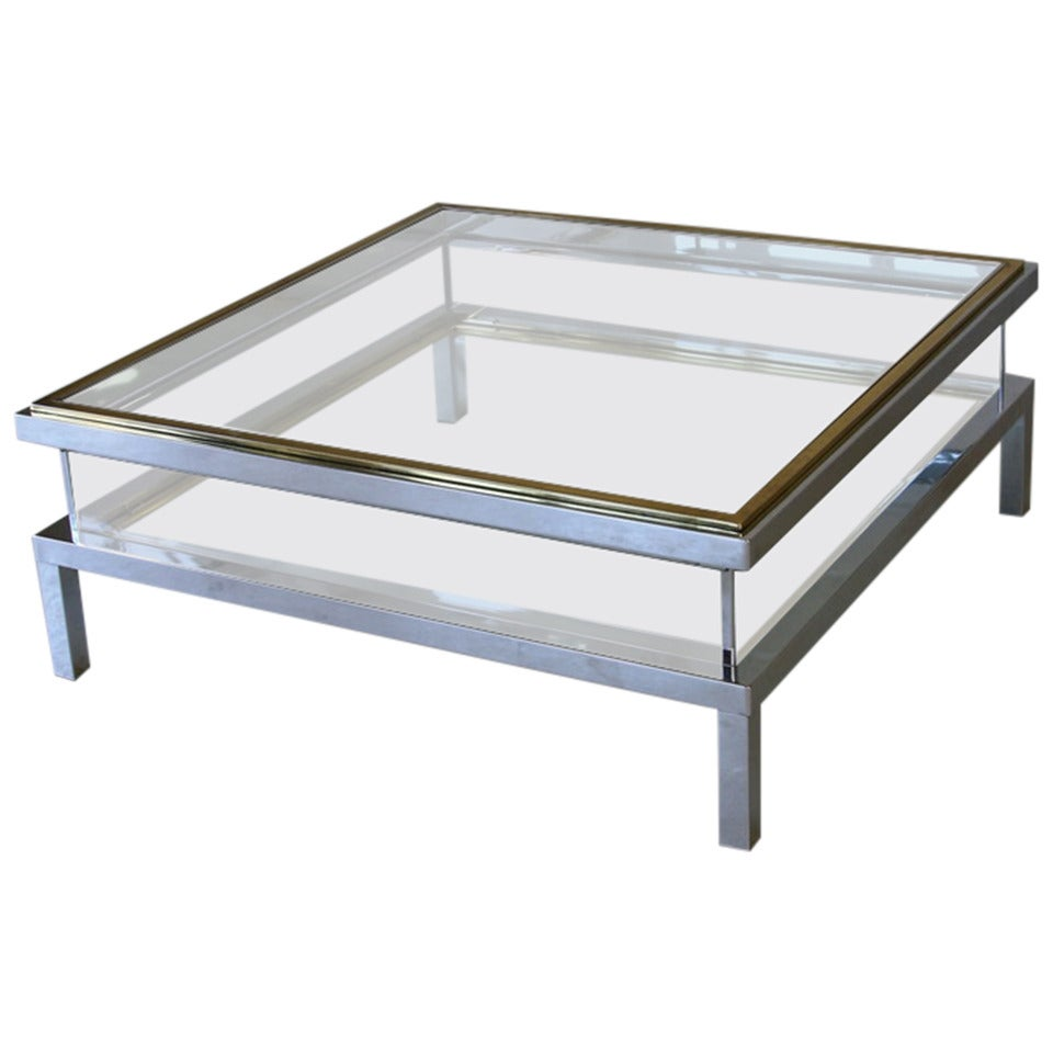 Jansen Coffee Table Maison Jansen Coffee Table With Sliding Top At 1stdibs