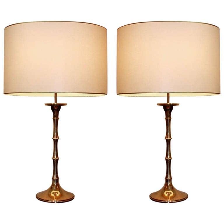 pair of ingo maurer table lamps 1970 39 s at 1stdibs. Black Bedroom Furniture Sets. Home Design Ideas