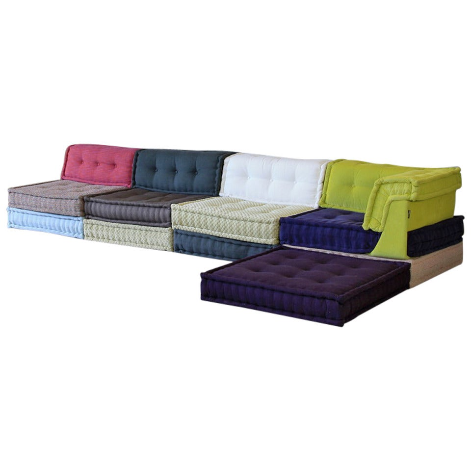 roche bobois sofas mahjong at 1stdibs. Black Bedroom Furniture Sets. Home Design Ideas