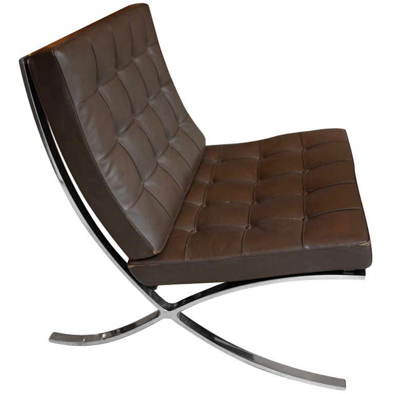 barcelona chair mies van der rohe knoll for sale at 1stdibs. Black Bedroom Furniture Sets. Home Design Ideas