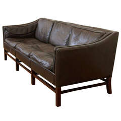 Leather Sofa, Three-Seat, Denmark