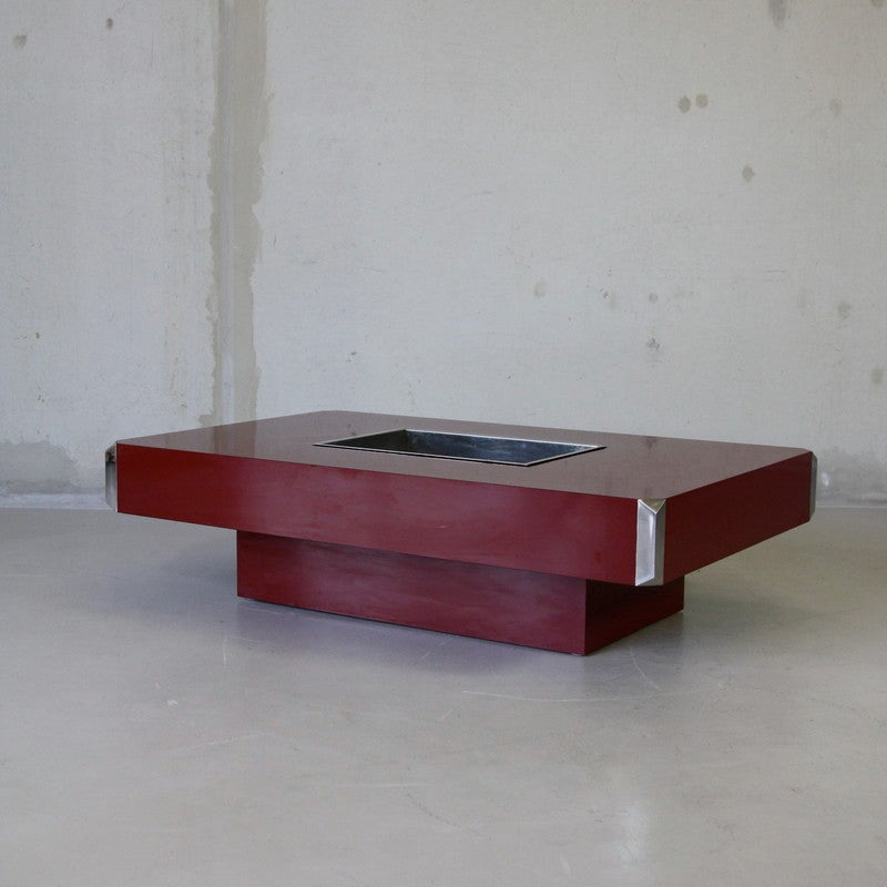 Willy Rizzo Coffee Table 1970s At 1stdibs