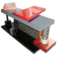 Tartar Console Table by Ettore Sottsass