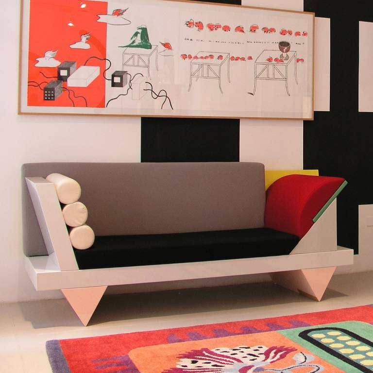 Big Sur Sofa By Peter Shire For Memphis Group 1986 At 1stdibs