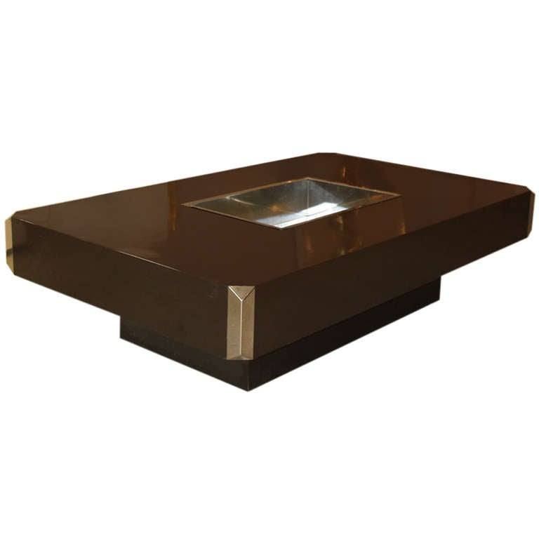 Willy Rizzo Coffee Table By Sabot 1972 At 1stdibs