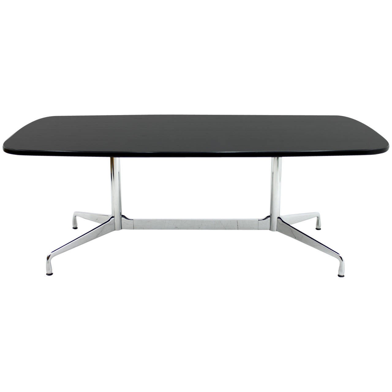 eames dining or conference table desk vitra at 1stdibs. Black Bedroom Furniture Sets. Home Design Ideas
