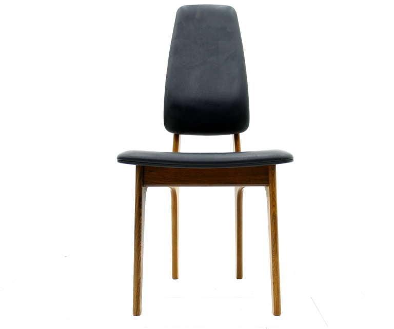 Erik Buch High Back Chair, Denmark, 1960s In Good Condition For Sale In Frankfurt / Dreieich, DE