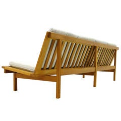 Danish Sofa or Bench in Oak by Børge Mogensen, 1956