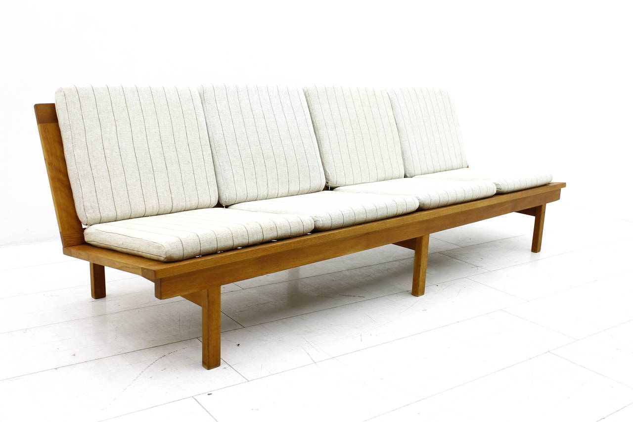 Scandinavian Modern Danish Sofa Or Bench In Oak By Børge Mogensen 1956 For