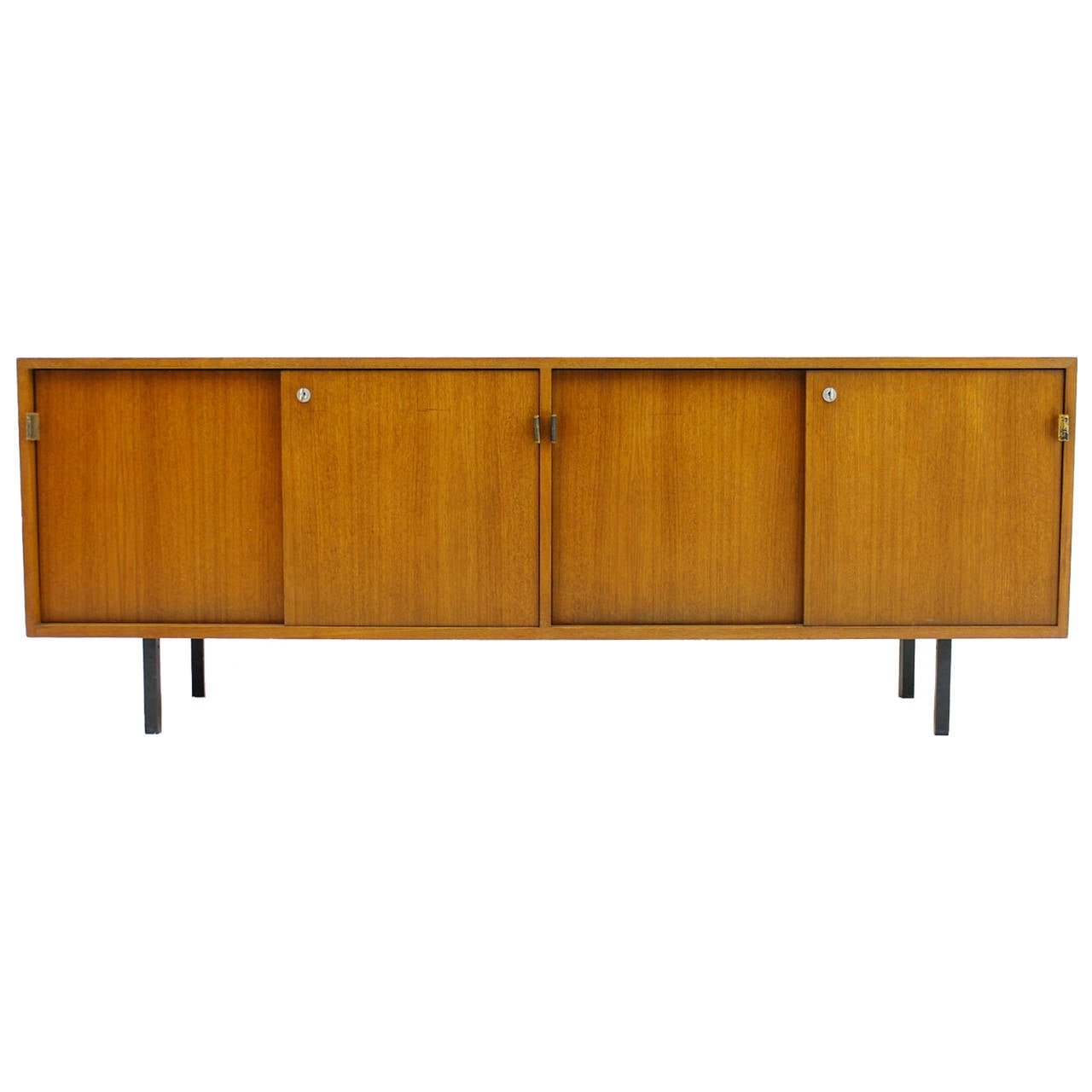Florence Knoll Teak Wood Credenza Or Sideboard At 1stdibs. Full resolution  snapshot, nominally Width 1280 Height 1280 pixels, snapshot with #884609.