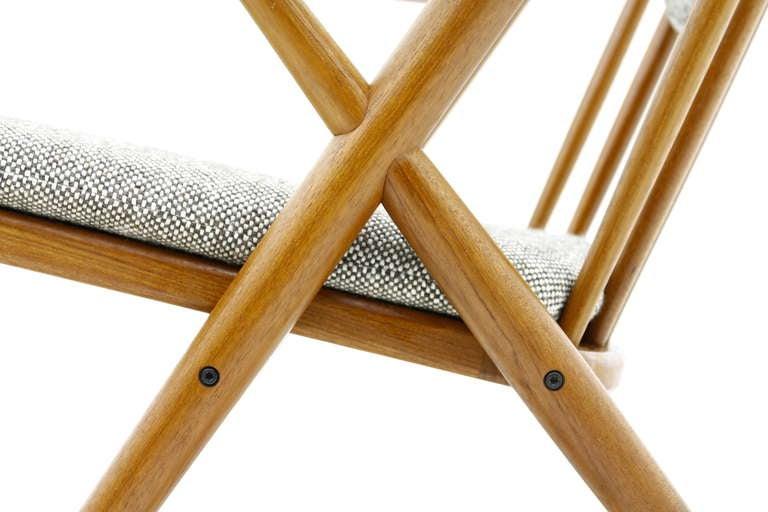 Scandinavian Modern Frank Reenskaug Rocking Chair, Teak, Denmark