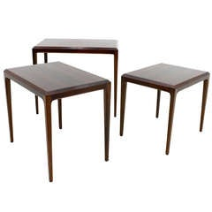 Nesting Tables by Johannes Andersen, Denmark, 1960s