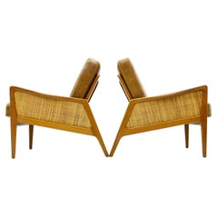 A pair Early Lounge Chairs by Peter Hvidt & Orla Molgaard Nielsen, FD 151