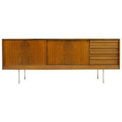 Rosewood Sideboard or Credenza by Kurt Ostervig, Denmark, 1960s