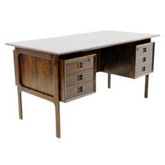 Rosewood Desk by Arne Vodder, Denmark 1960s