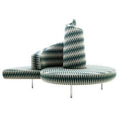 """Sofa """"Tatlin"""" by Mario Cananzi & Roberto Semprini for Edra, Italy, 1989"""