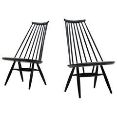 Pair of Mademoiselle Lounge Chairs by Ilmari Tapiovaara for Asko, Finland, 1956
