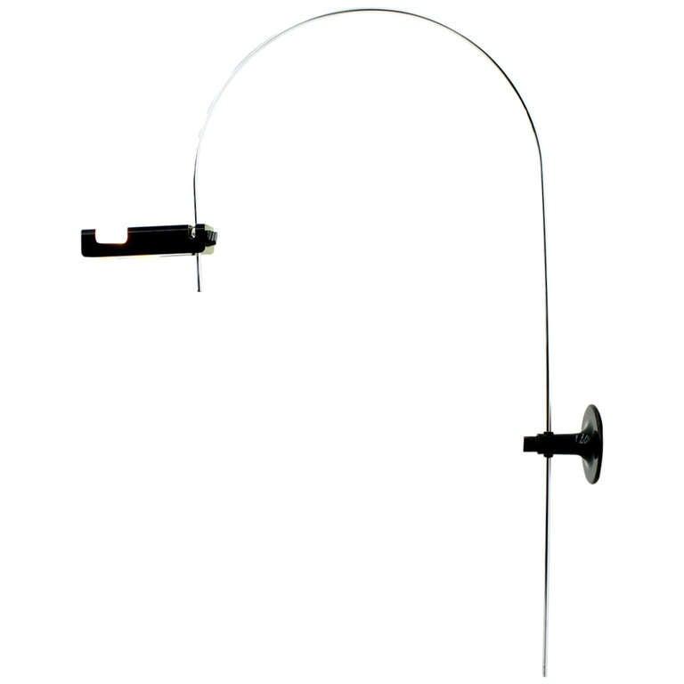 Wall Mounted Adjustable Lamps : Rare Wall Mounted