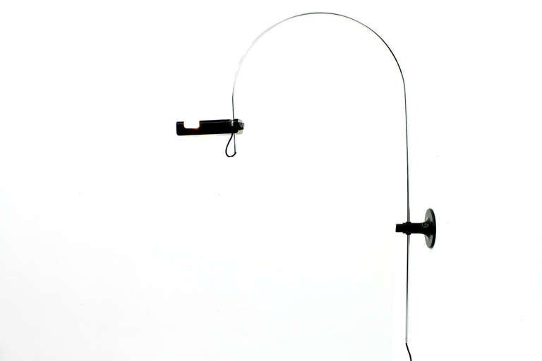 Wall Mounted Arc Lamp : Rare Wall Mounted