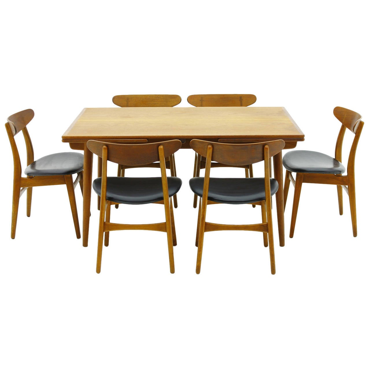 Dining Room Table With Tuck Under Chairs Teak dining  : 2298372l from ubermed.us size 1280 x 1280 jpeg 85kB