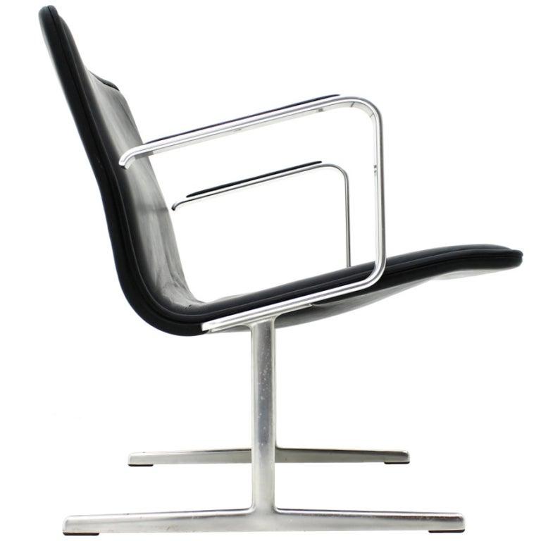 Rare Dieter Rams Lounge Chair Vitsoe Germany At 1stdibs