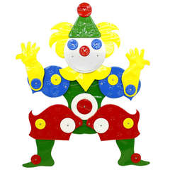 """Very Rare """"I Like It Soft"""" Clown by Guenther Kieser for Zapf, SoftLine, 1971"""
