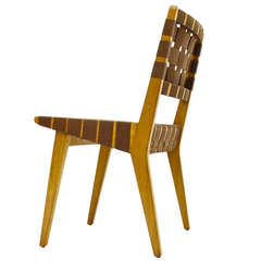 Early Jens Risom Side Chair 666 Knoll, 1950`s