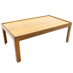 Teak Wood Coffee Table by Illum Wikkelso, Denmark 1960s