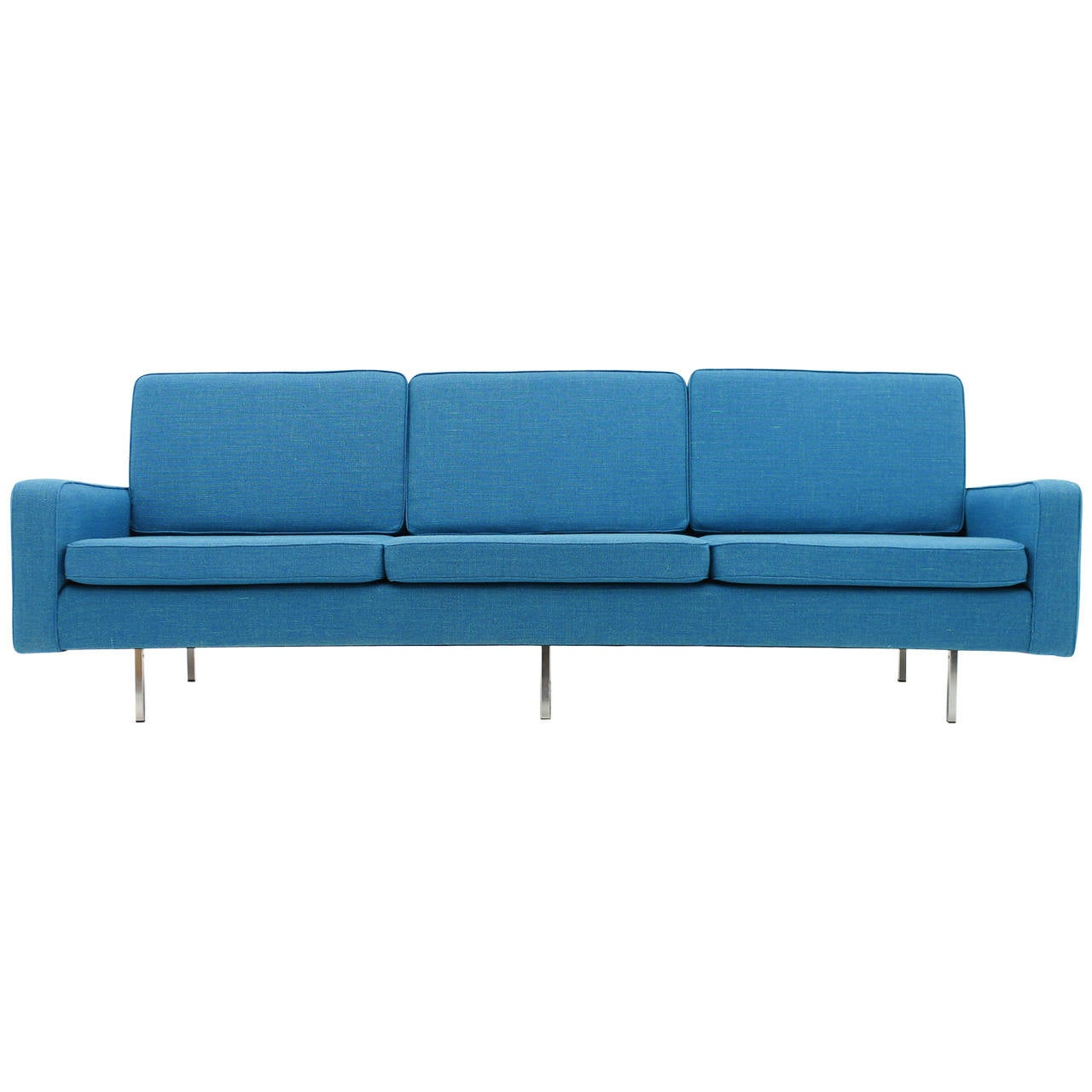 Three Seat Sofa By Florence Knoll For Knoll International 1949 At 1stdibs