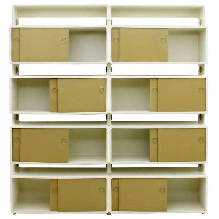 Very Rare Freestanding Shelf by Ernest Igl for Wilhelm Werndl, Germany, 1970