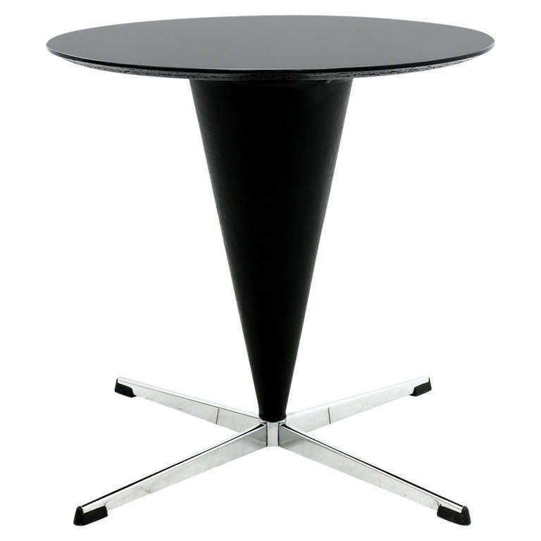 verner panton cone side table 1959 at 1stdibs. Black Bedroom Furniture Sets. Home Design Ideas