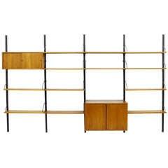 Poul Cadovius Wall System, Shelf, Teak Denmark 1958