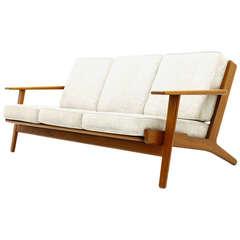 Teak Sofa by Hans J. Wegner for Getama, GE 290, Denmark