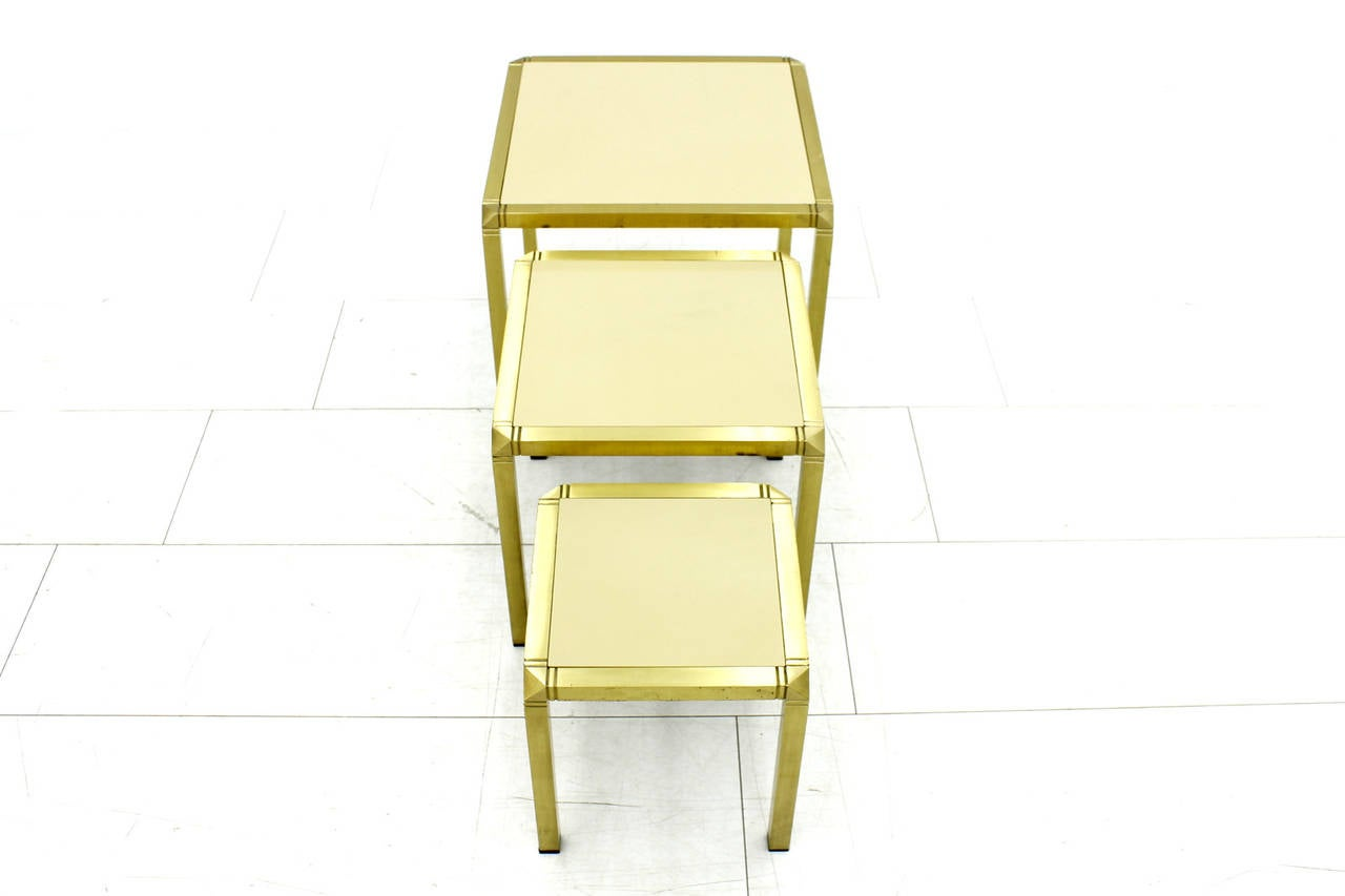 Mid-Century Modern Nesting Tables by Marzio Cecchi, Italy 1970s For Sale