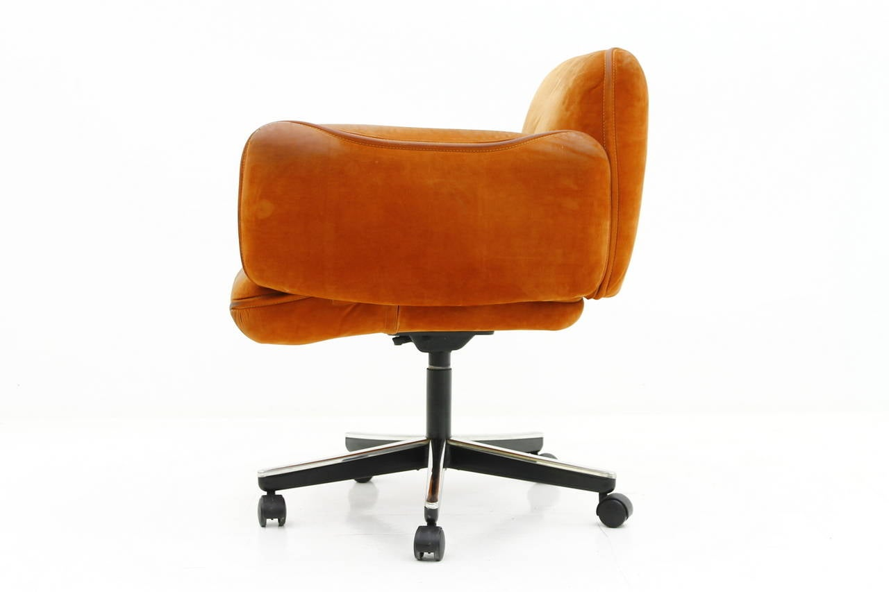 this otto zapf office chair by knoll international germany 1976 is