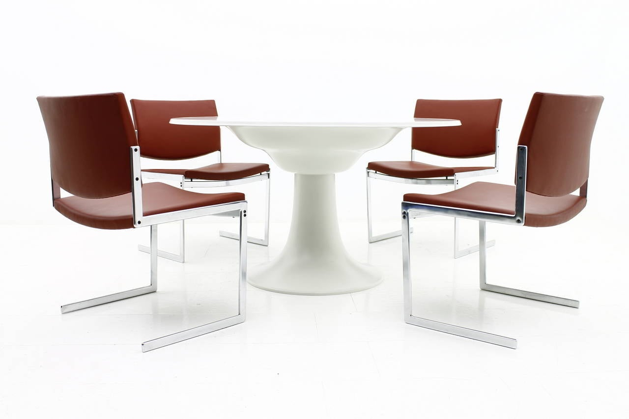 Otto zapf table dining column germany for