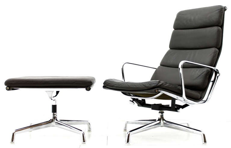 Eames Soft Pad Lounge Chair charles and ray eames soft pad lounge chair ea 222, h. miller at