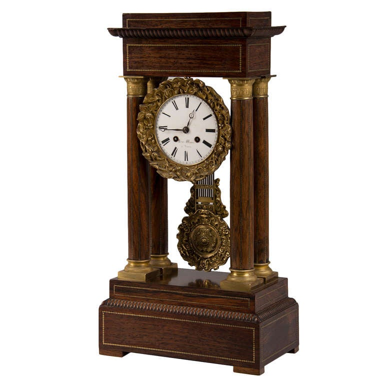 Antique French Charles X Period Rosewood And Ormolu