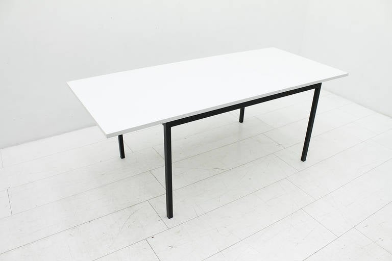Mid-Century Modern Extension Dining Table by Hans Konecke, Germany 1950s