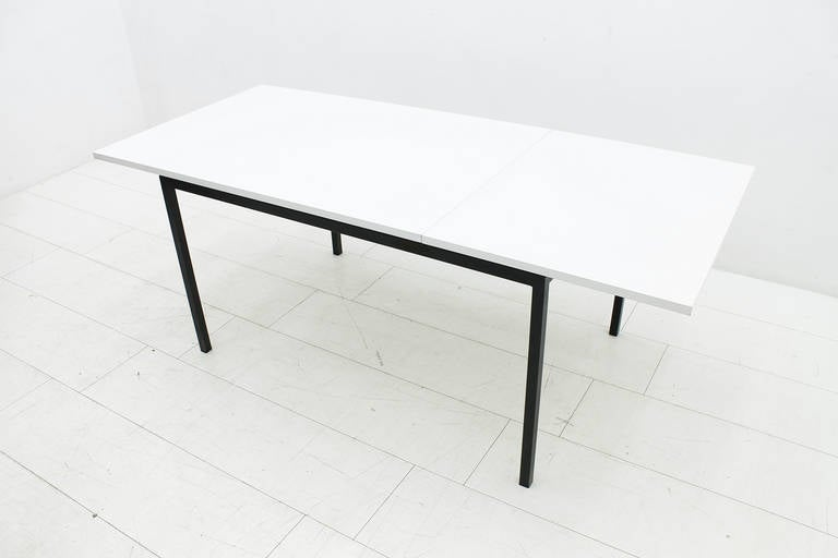 Laminated Extension Dining Table by Hans Konecke, Germany 1950s